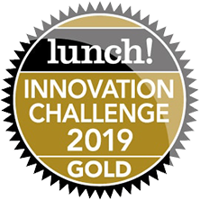 Image of innovation challenge 2019 gold award